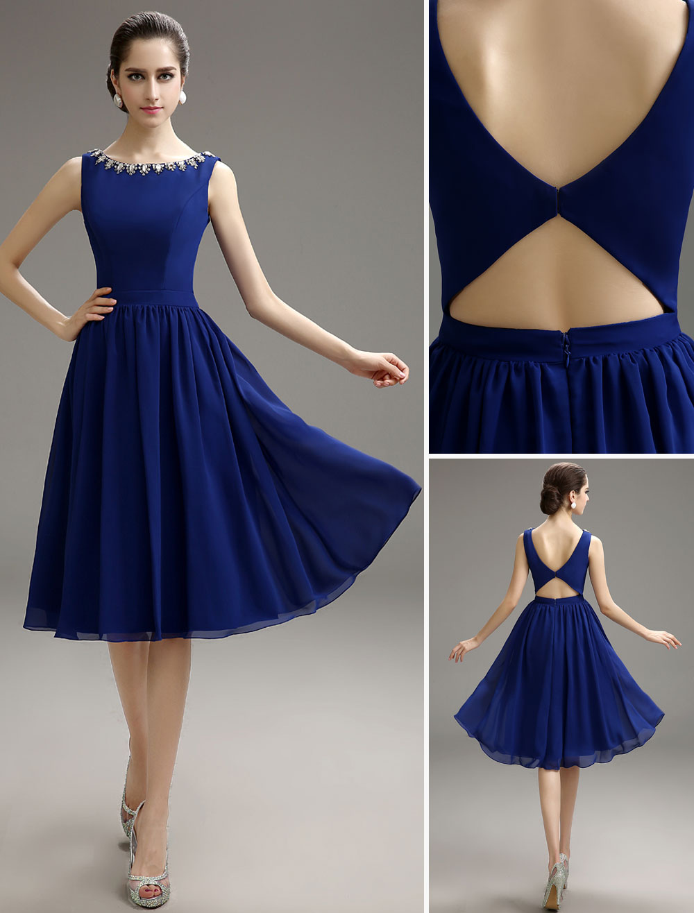 Royal Blue Party Dresses