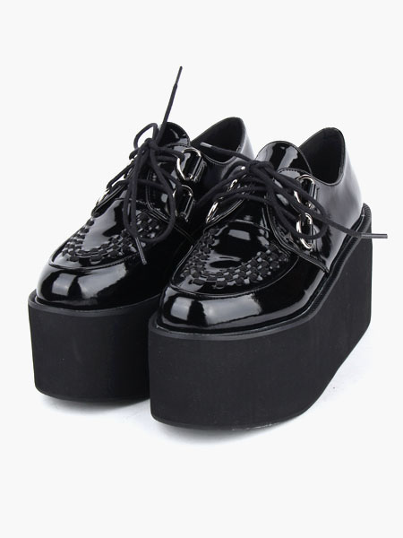 Zapatos de lolita de PU de alta calidad duLNENYj