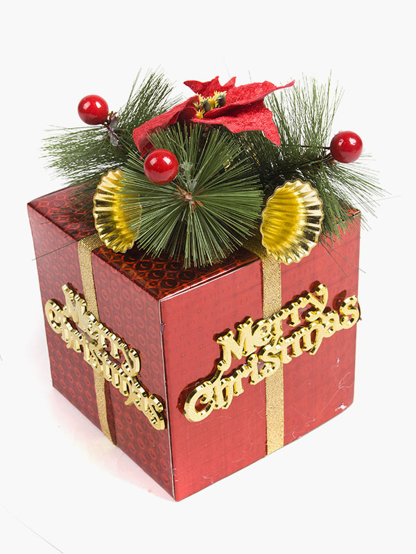 Christmas Gift Packages.Multi Color Christmas Gift Package