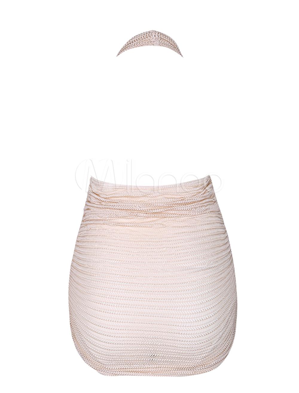 V Neck Asymmetric Hem Floral Printed Long Sleeve Maxi Dresses rose gold with tassels