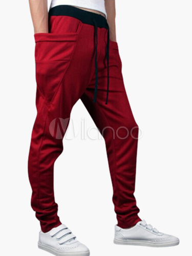 Hip Hop Harem Jogger in Solid Colour