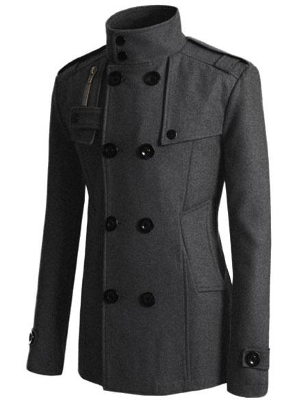 manteau homme 2018 trench coat masculin long en spandex. Black Bedroom Furniture Sets. Home Design Ideas