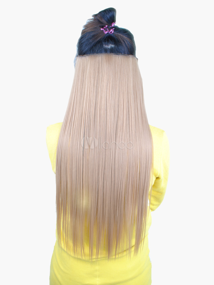 Popular Long Straight Womens Hair Extensions