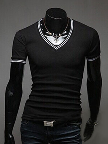 Long Sleeve Cotton Blend T-Shirt For Men