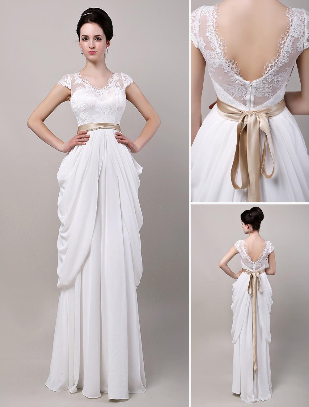 Como se hace un vestido de novia drapeado