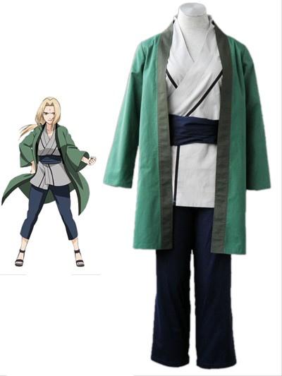 Naruto Tsunate 1th Cotton Cosplay Costume Halloween