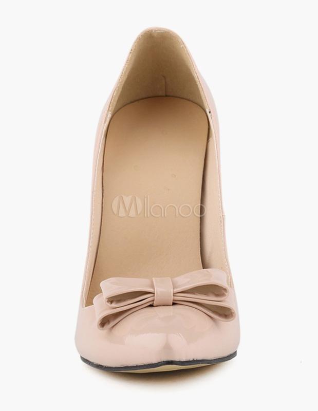 Arcos de patente PU zapatos muy puntiagudos ORjcnBj