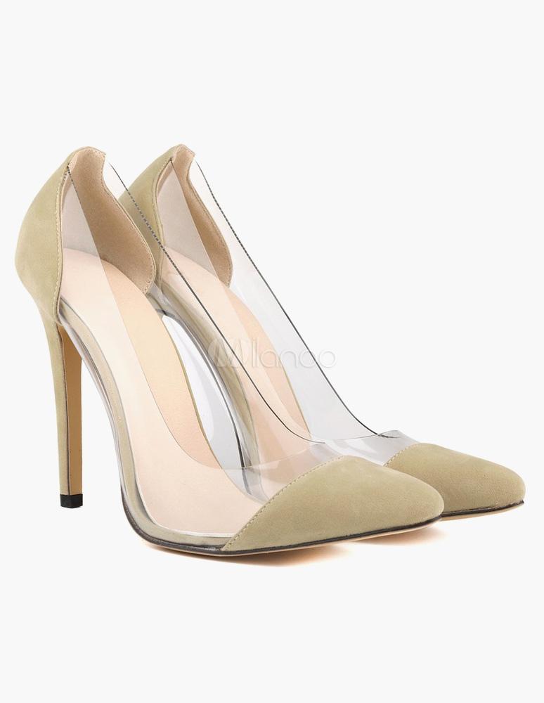 Zapatos de dedo del pie puntiagudo moderno tacón ante Micro DIuhl