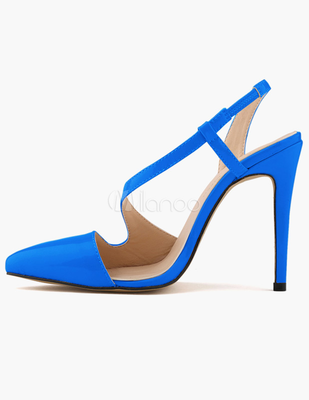 Buy Patent PU Modern Women's Pointy Toe Heels for $38.24 in Milanoo store