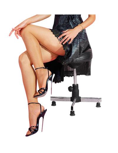Women Sexy Shoes High Heel Sandals Black Open Toe Stiletto Heel Sandals