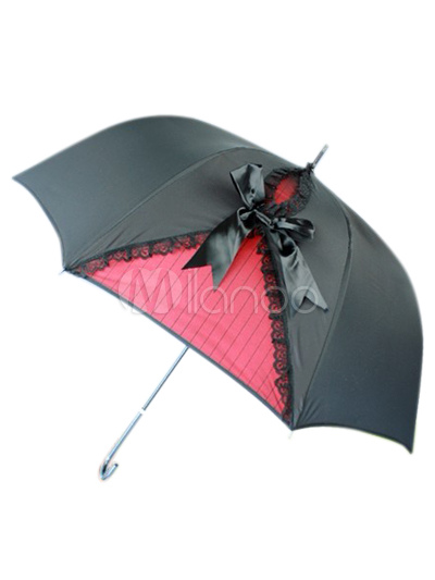 Black Lace Lolita Umbrella
