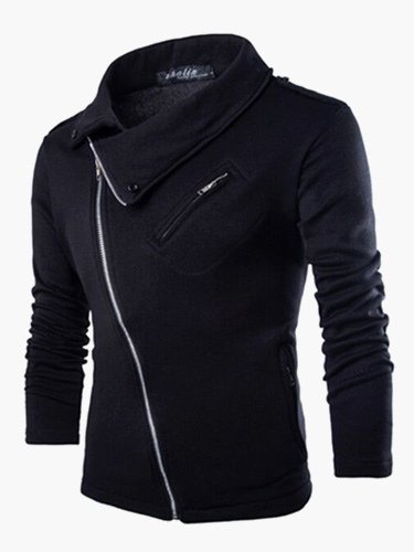 Fashion Zipper Cotton Hoodie for Man