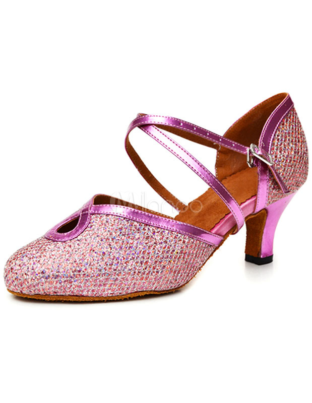 Women's Sequins Ballroom Shoes