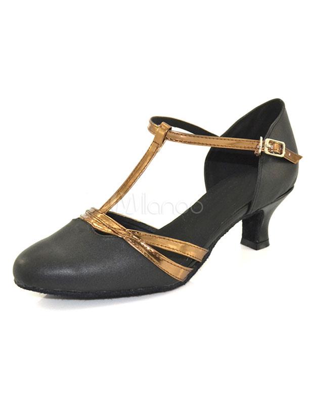 Women's Buttons Ballroom Shoes