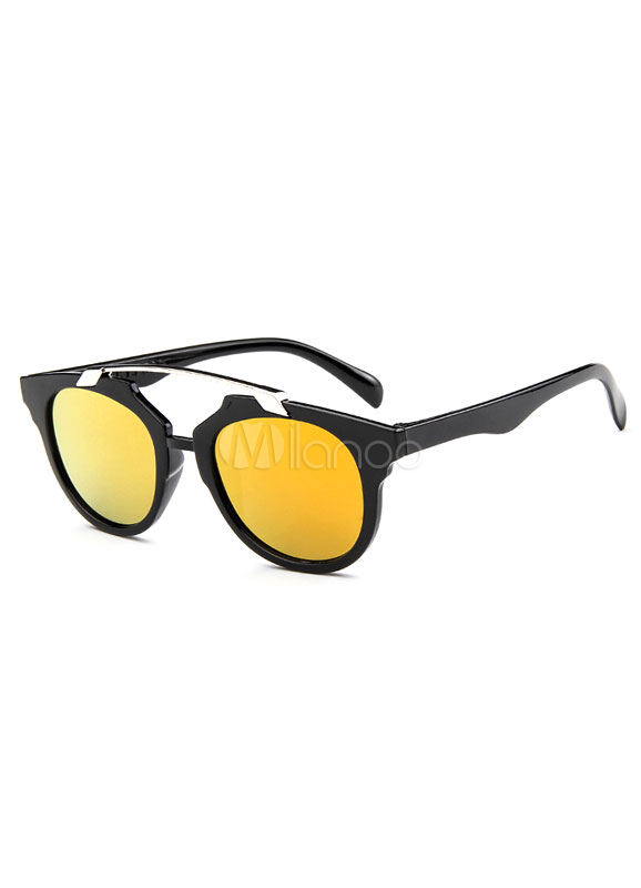Metallic Colored Beach Glasses Cheap clothes, free shipping worldwide