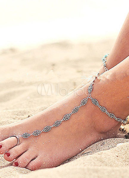Buy Vintage Chic Leaf Anklets for $3.59 in Milanoo store
