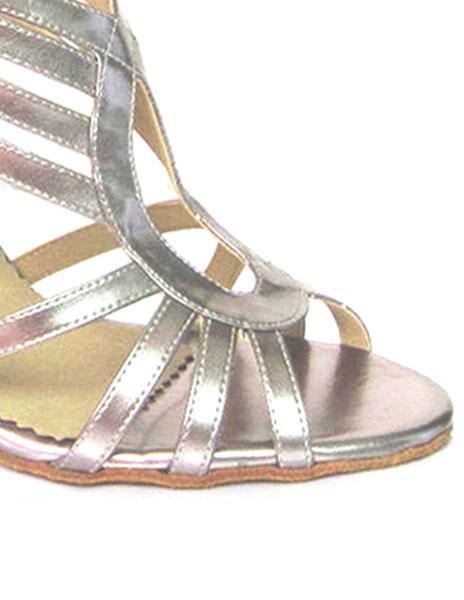Pío cremallera trasera aguja baile zapatos de baile de la mujer de tacón alto sandalias zGwHzsSoqp