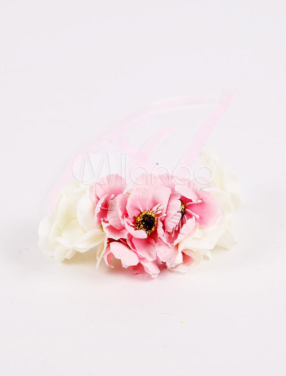 Wedding Wrist Corsage Ribbons Bridesmaid Flower Handmade Prom Flower(8 X 12 X 5 Cm )