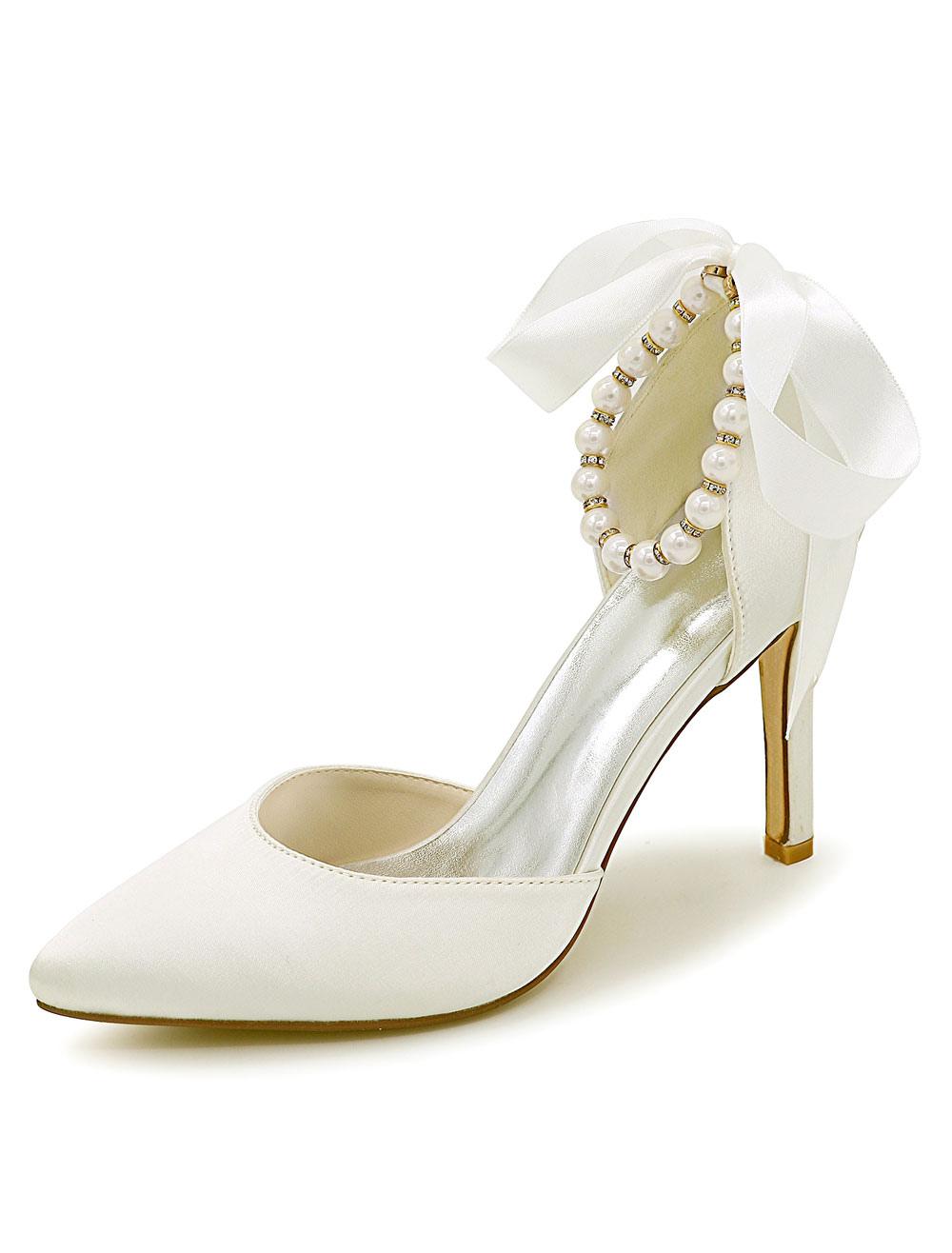 a48c196533acc Wedding Shoes | Bridal Shoes for Less | Milanoo.com