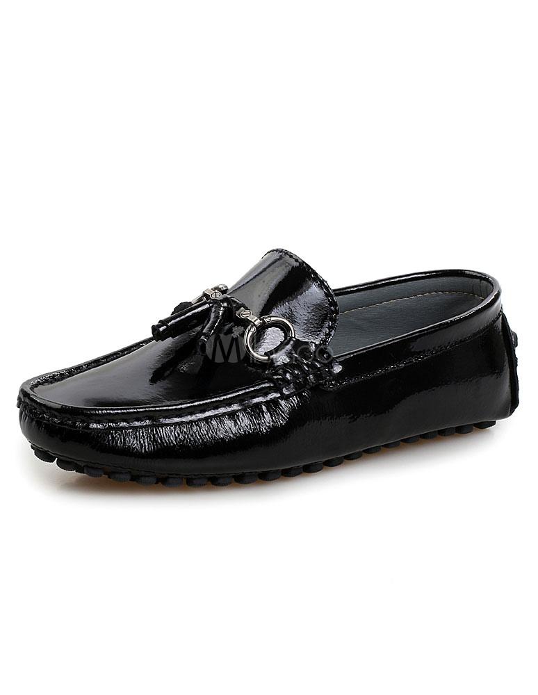 8416cad41 Mocasines zapatos de los hombres negros zapatos mocasines de Gucci de dedo  del pie redondo- ...