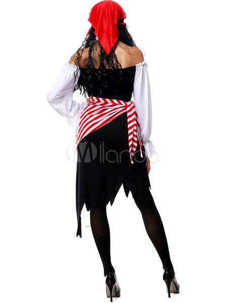 karneval piratenkost m halloween kost me pirat frauen outfit cosplay mit piraten per cken. Black Bedroom Furniture Sets. Home Design Ideas