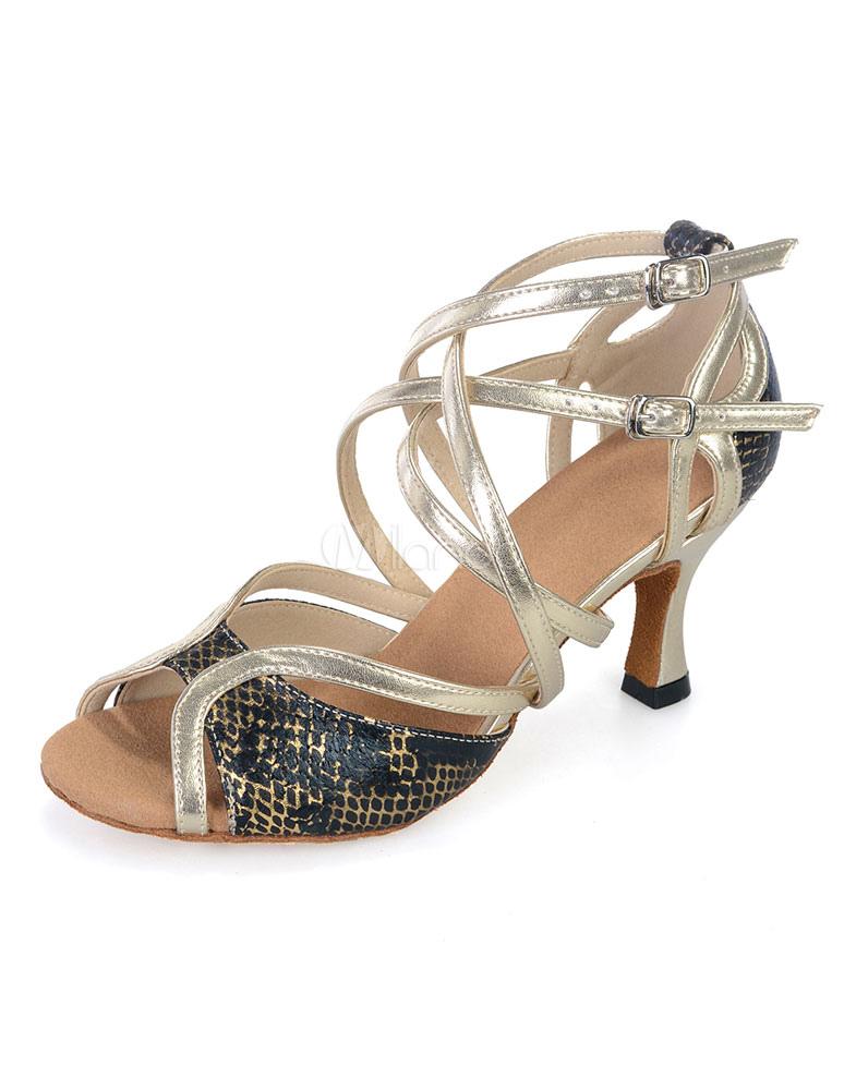 Zapatos de bailes latinos de PU e0NB9yOk4