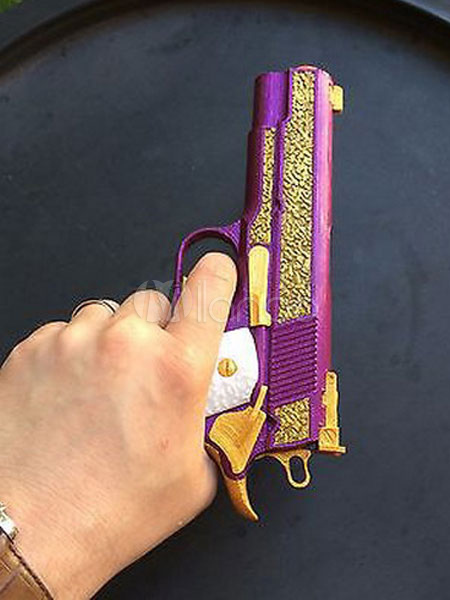 suicide squad joker halloween cosplay gun cosplay weapon