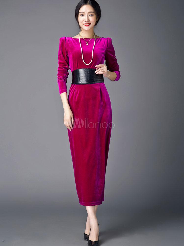Рукава велюрового платья