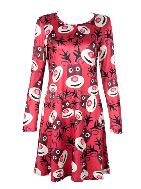 Kleid fur weihnachten damen