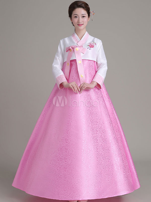 Halloween traje Coreano Hanbok largo falda Top Set para mujeres ...