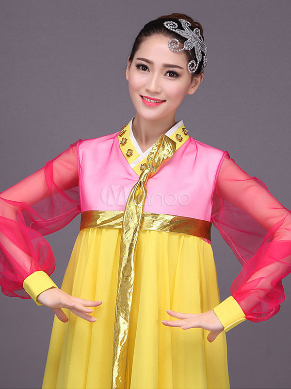 Halloween Korean Costume Hanbok Women S North Korean
