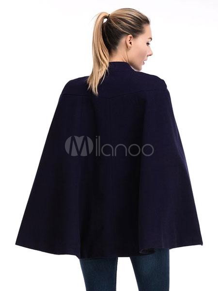 poncho cape femme de laine manteau femme de pliss poncho. Black Bedroom Furniture Sets. Home Design Ideas