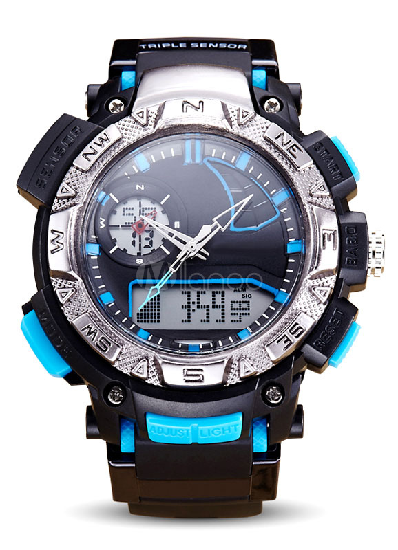 Digital Wrist Watches Led Analog Men's Second Chronograph Date Waterproof Sport Watches