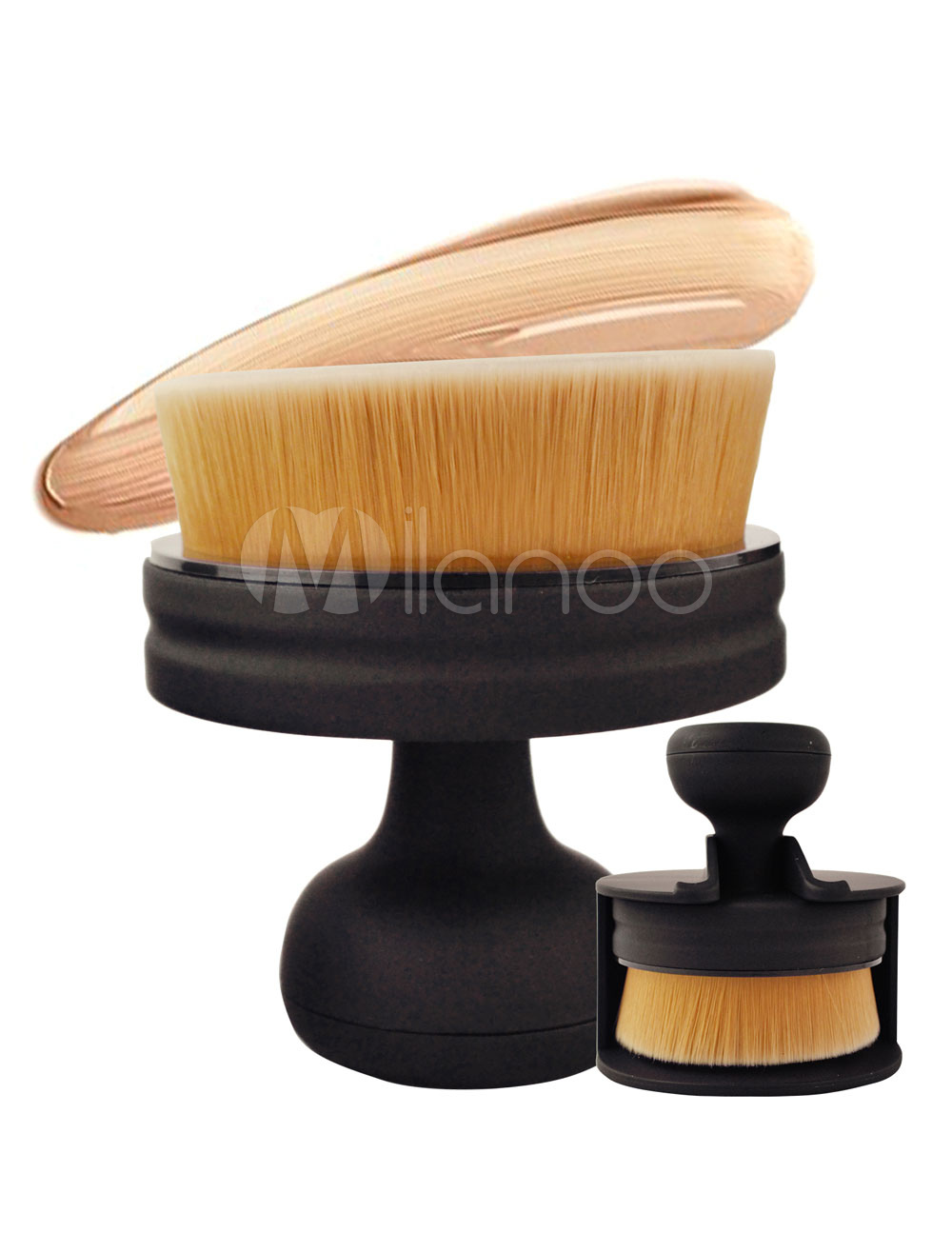 Black Makeup Brushes Women's Microfiber Foundation Brush Cheap clothes, free shipping worldwide
