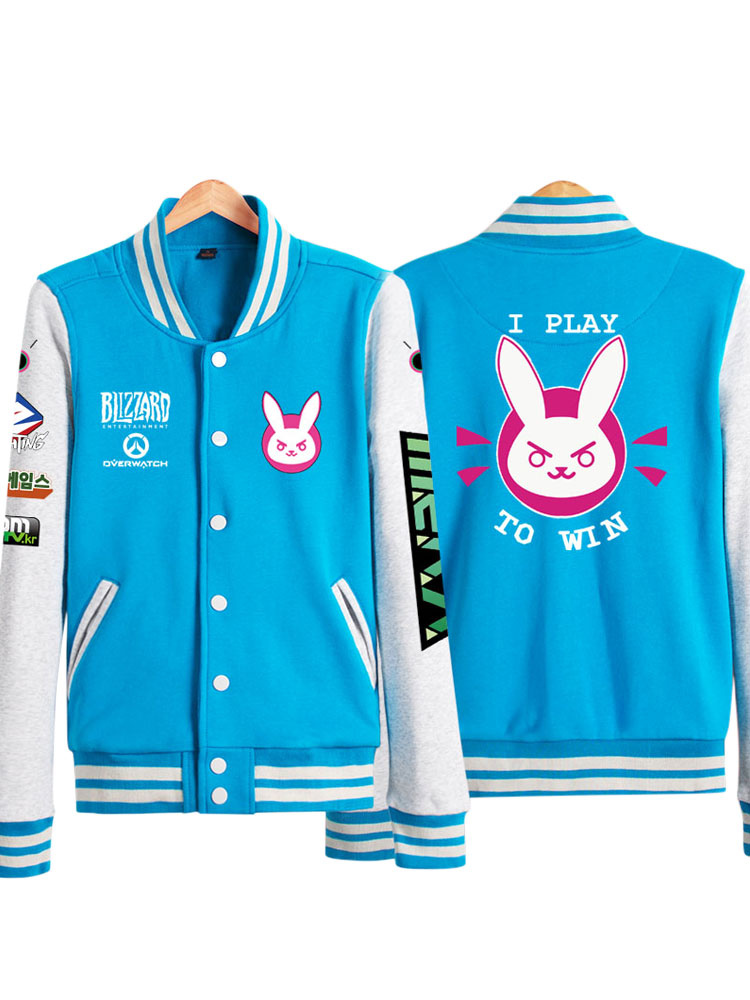 Overwatch Ow D.va Cosplay Hoodie Kawaii Cosplay Costume Halloween