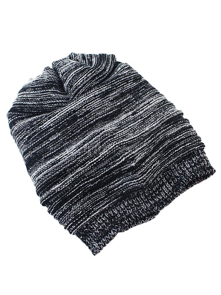 e9d80030b9f Women s Beanie Hat Dark Brown Wool Knit Hat - Milanoo.com