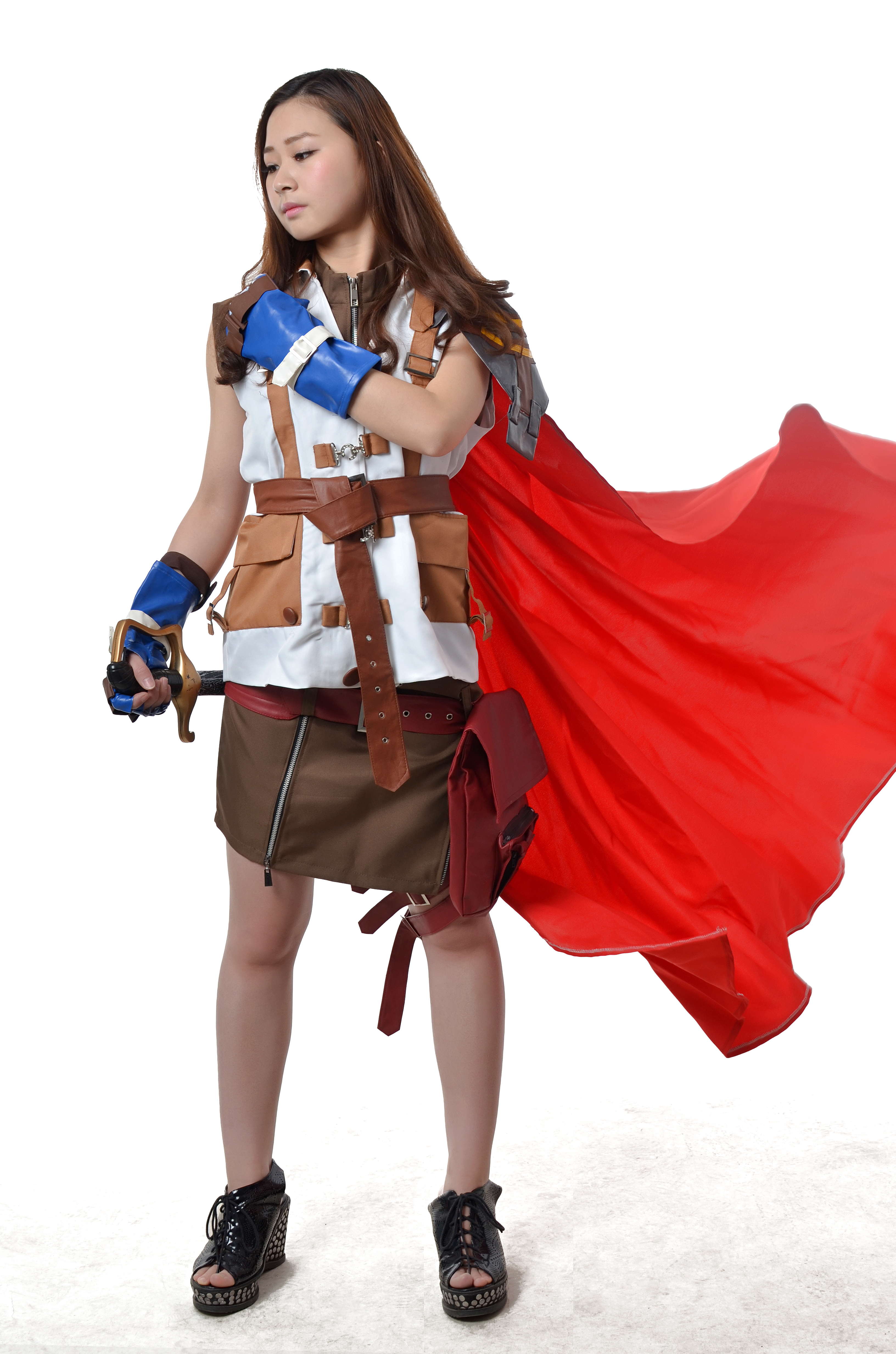 Cosplay Final Fantasi final fantasy xiii lightning cosplay costume halloween - milanoo