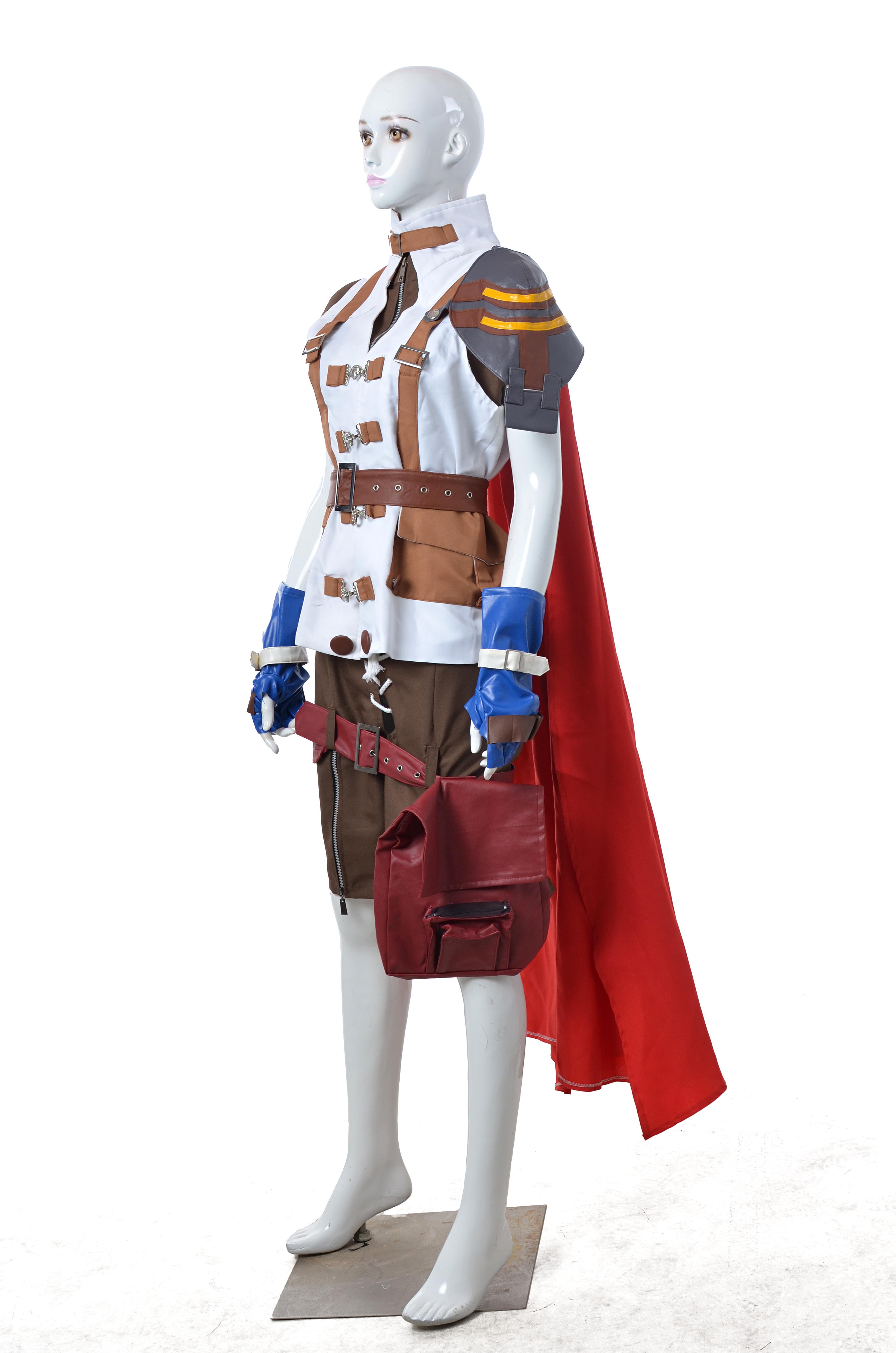 Final Fantasy XIII Lightning Halloween Cosplay Costume