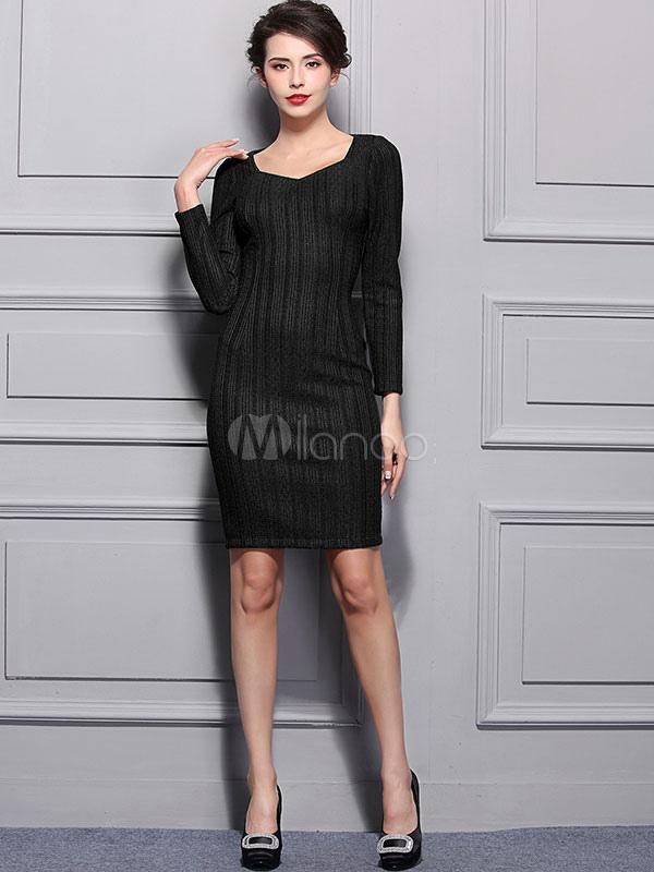 d221821805 ... Women s Lace Dress Dark Green Long Sleeve Slim Fit Bodycon Dress-No. ...