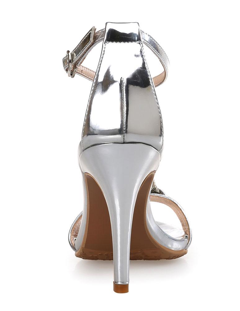 Sandali 2019 Eleganti Donna Tacchi Metallizzati Da Alti Nnm8wv0O
