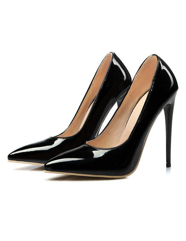 43a5e29a852 ... Women s High Heels Yellow Pointed Toe Stiletto Heel Slip On Pumps-No.  ...