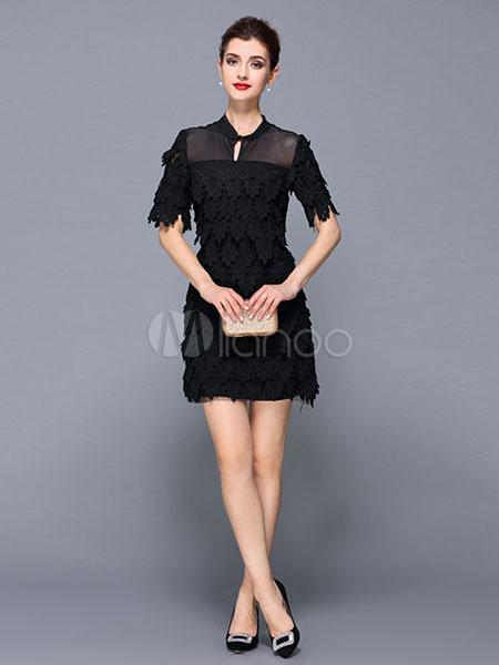Vestidos cortos para fiesta negro