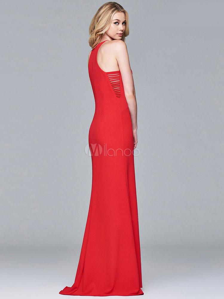Bequemes Maxi-Kleid Damen Riemchen ärmellose langes Abendkleid für ...