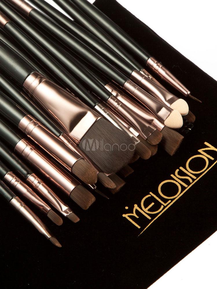 Milanoo / Eye Makeup Combo Eye Brushes Eyeshadow Palette And Mascara With Fake Eyelashes