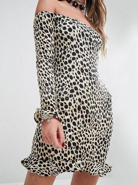 Vestidos strapless cortos de modal