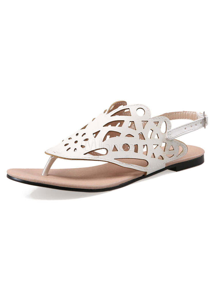 Féminines Sandales Sandale Découpe Post Escarpins Argent Plates nwv0m8N