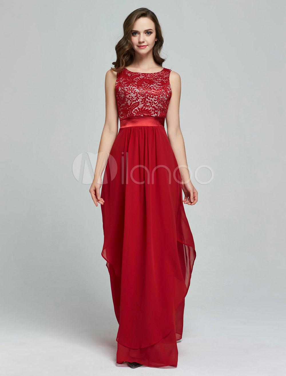 maxikleid ärmellos sommerkleider lang rot damenmode mit rundkragen und  jacquardmustern für sommer maxi kleid und ball chiffon kleider