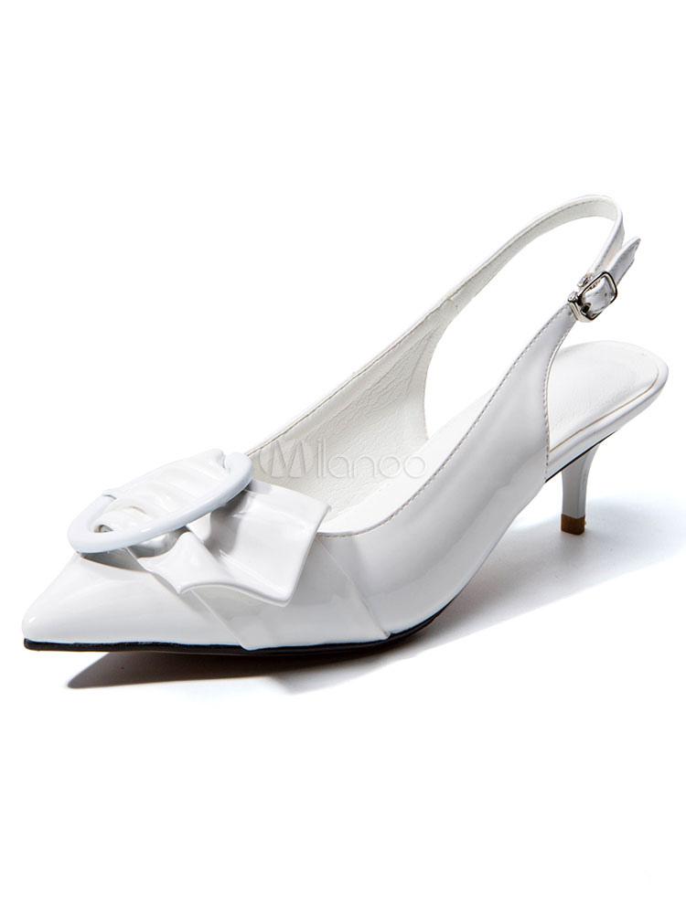 Zapatos de tacón medio estilo moderno para pasar por la noche de tacón de kitten antideslizantes con pala de gamuza de puntera puntiaguada PeWWz4VlBj