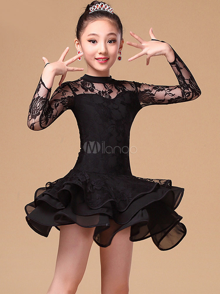Buy Shaping Patchwork Chic Latin Dance Costume for Women for $35.99 in Milanoo store