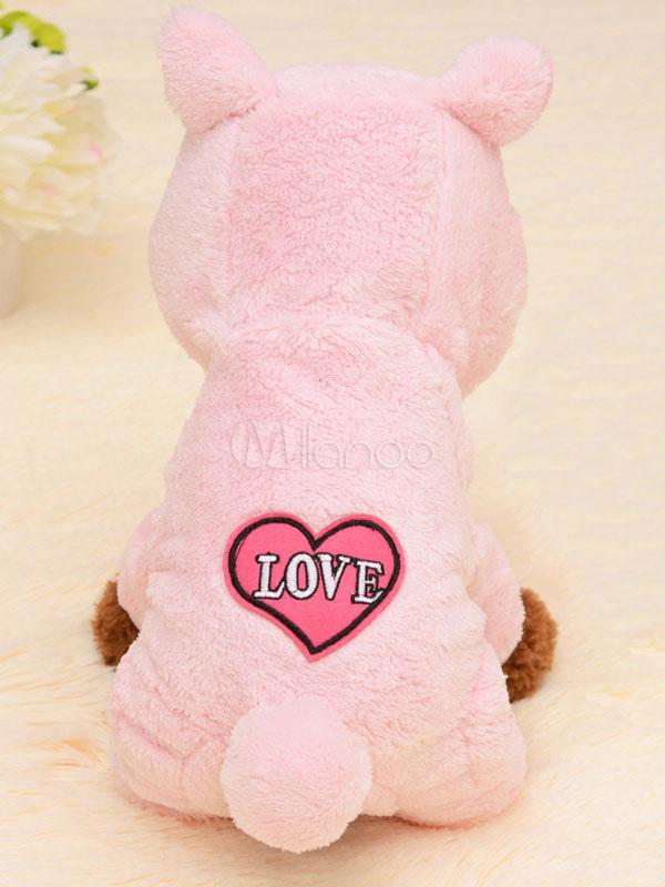 Disfraz de mascota de pana para perro de cerdo rosa de cerdo para ...